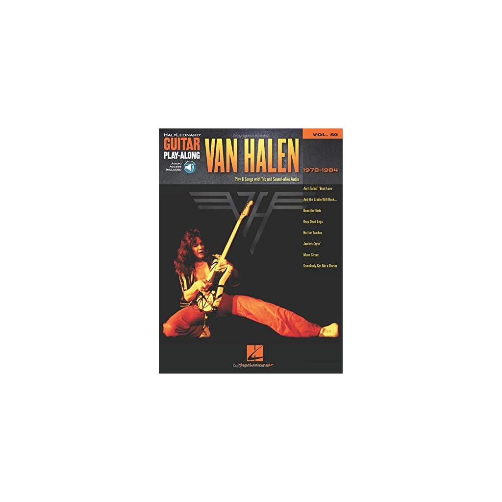 Van Halen 1978-1984: Guitar Play-Along Volume 50