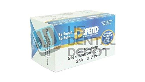 Amazon.com: Defender – Esterilización Self Sealing Bolsas 2 ...