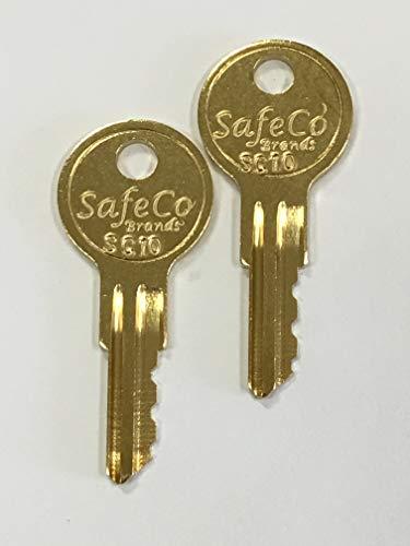 SafeCo Brands DMP Fire Pull Station Reset Keys SC10 2- Keys (SC10)