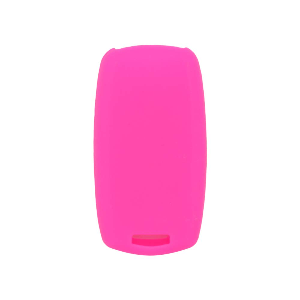 SEGADEN Silicone Cover Protector Case Skin Jacket fit for SUZUKI 2 Button Smart Remote Key Fob CV4544 Red