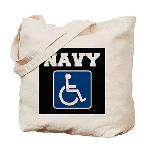 Medium Tela Disabili Handicapped Veteran Cachi Tote Navy Cafepress n1OBFvq