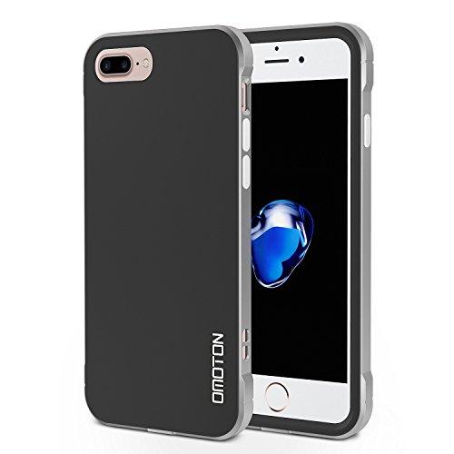 OMOTON iPhone 7 Plus Case - Dual-Layer [Soft TPU Interior] [Durable PC...