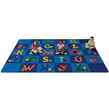 Amazon.com: Lectura Cartas Biblioteca Kids Alfombra Tamaño ...