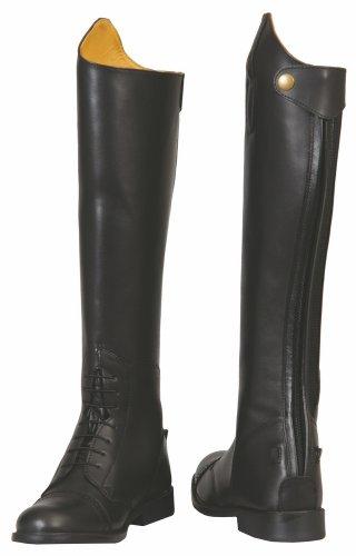 Baroque Black Regular Short Field Boots 95 TuffRider Women's S6Bw55