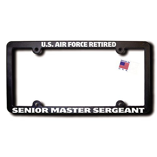 U.S. Air Force Retired SENIOR MASTER SERGEANT License Frame