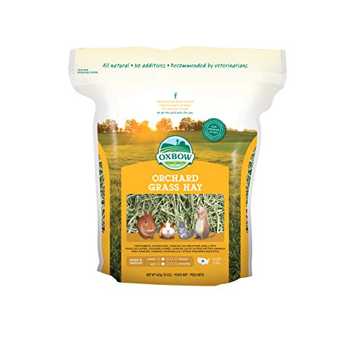 - Oxbow Animal Health Orchard Grass Hay For Pets, 15-Ounce