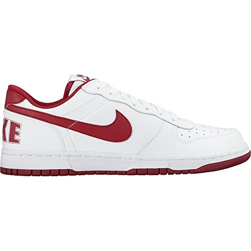 NIKE Men's Big Low Basketball Shoes White/Gym Red countdown package sale online 0goIKH