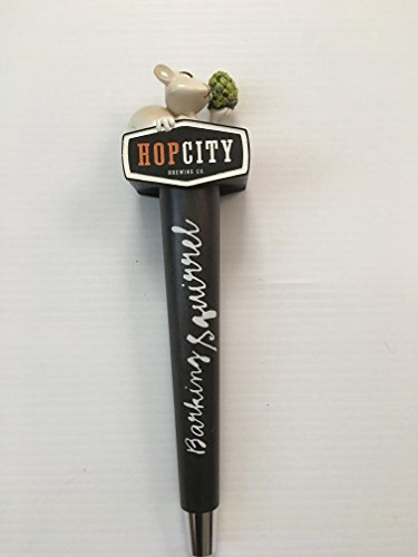 Hopcity Brewing Co. Beer Tap Handle Barking Squirrel Hop City