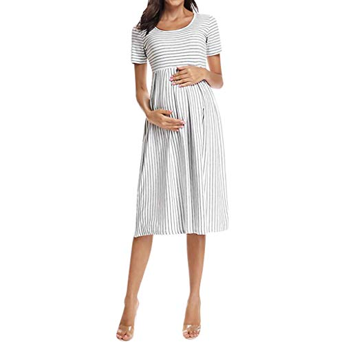 Little Story Ladies Multifunctional Mother Breastfeeding Stitching Skirt Women Pregnant Maternity – The Super Cheap