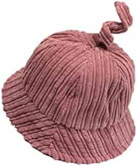 Yuchoi Sun Children Solid Color Sun Protection Hat Sun Visor Kids Fisherman  Hat Bucket Hat for f10bba389910