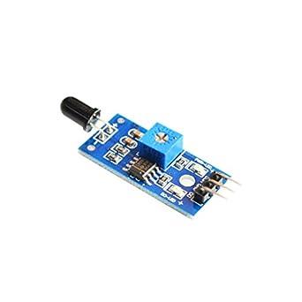 20pcs/lot módulo de Sensor de llama por infrarrojos Detector SmartSense para temperatura Detección para