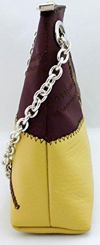 Multicolore Winni giallo ocra elbaavoile femme qA8aBwxF