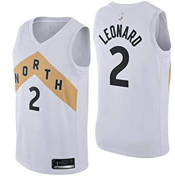 low priced 98d62 e7200 Men Toronto Raptors Kawhi Leonard White Icon Swingman Jersey ...
