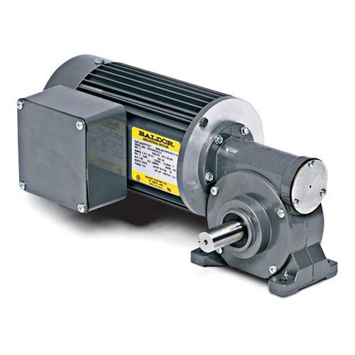 Baldor Electric GC3325 TEFC Right Angle AC Gearmotor, 1/4 hp, 151 RPM, 115V AC, 60 Hz, 1 Phase, 11:1 Gear Ratio by Baldor Electric