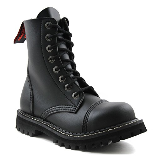 steel toe army boots - 9