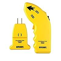 Buscador de interruptores de circuito eléctrico CS550A de Sperry Instruments, circuitos y fusibles de CA, 80-140V CA, 50-60Hz