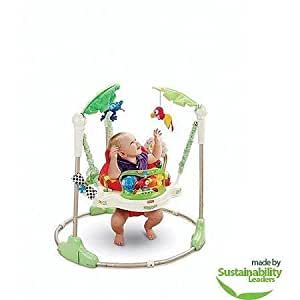 25210de29b8 Amazon.com : Rainforest Jumperoo Bouncer & Jumper by Fisher-Price : Baby