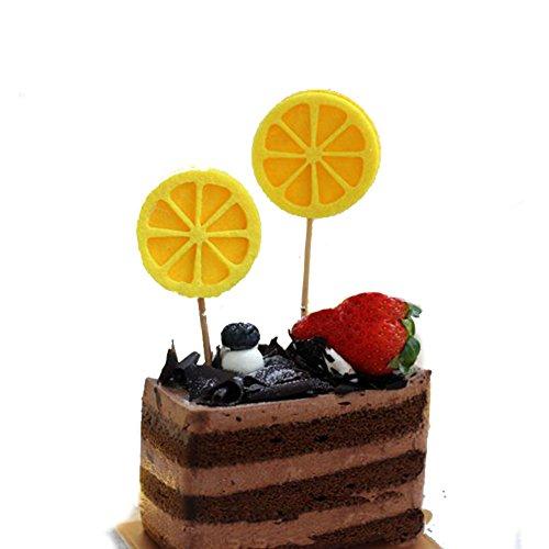 Cake Cupcake Picks Toppers Liners 40 PCS/100 PCS Decoration Bakery Pineapple Watermelon Lemon Carrot Bee Pumpkin