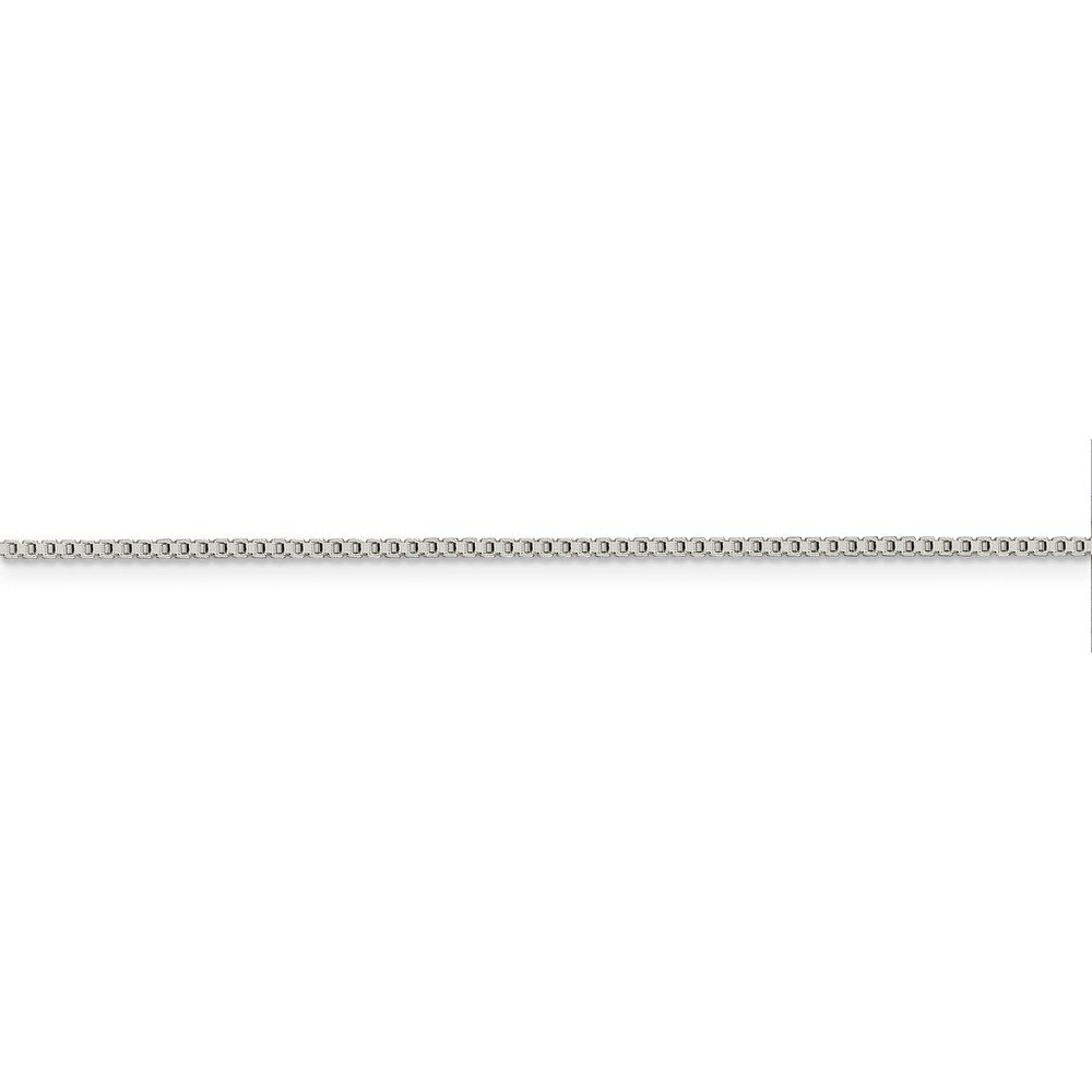 925 Sterling Silver 1.25mm Box Chain