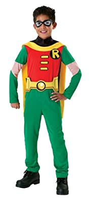 Teen Titans Childs Robin Costume Small from Rubies