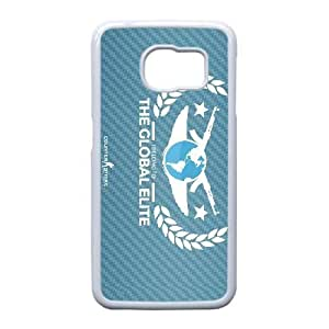 Printed Cover Protector Samsung Galaxy S6 Edge Cell Phone Case White Global Elites Bimbs Unique Design Cases