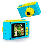"TurnRaise Children's Camera Digital Video Camera Toys, Upgraded Kids Camera 800MP /2.0"" LED/256M"