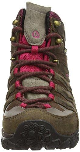 cuero Root Marron Merrell Mid Bitter Shift mujer Senderismo Chameleon de Gtx Zapatillas de marrón wPOxRwgnq