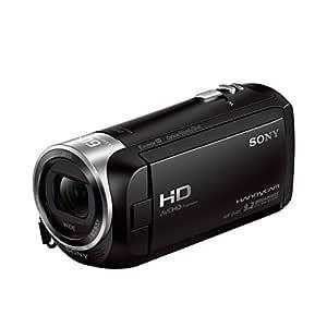 Sony HDR-CX405 Full HD videokamera (30 gånger opt. Zoom, 60 x klar bildzoom, vidvinkel med 26,8 mm, optisk Steady Shot) med intelligent Active Mode Vippande låga inspelningar svart