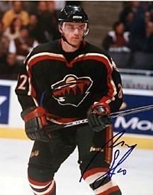 Signed Marian Gaborik Photograph - 8x10 Minnesota Wild - Autographed NHL Photos