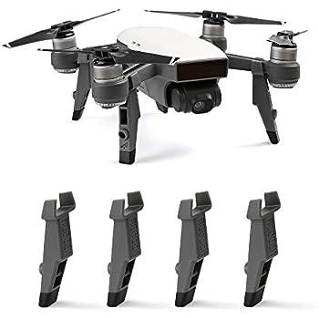 Anbee Upgrade Heighten Landing Gear Shock Absorb Feet Pack for DJI Spark Drone