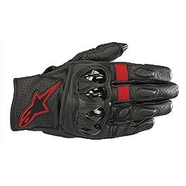 Alpinestars Celer V2 Gloves (Black and Red, S)