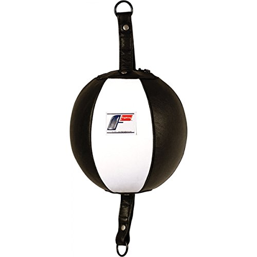 Fighting Sports Pro Double End Bag, Black/White by Fighting Sports