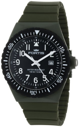 fortis-colors-c-70406-olive-silicone-pop-out-watch