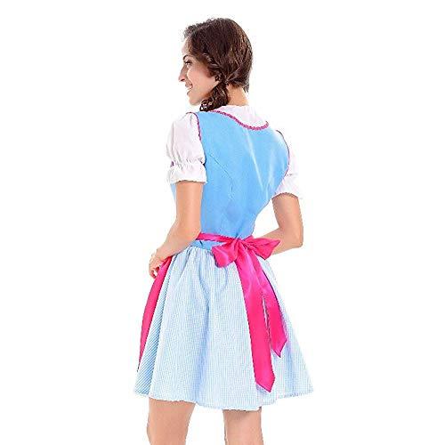 Per Da Drindl Tavern Sera Tradizionale Swing Midi Abiti A Line Oktoberfest Moda Ball Abito Abbigliamento Elegante Colour8 Gown Donna Cameriera Vintage Party Dress PuiOkXZ