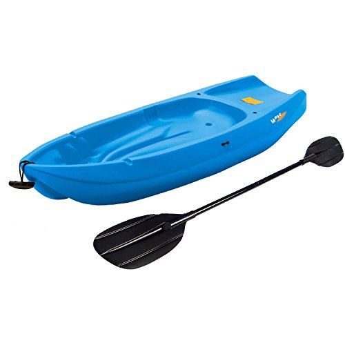 Lifetime, 6', 1-man Wave, Made From Durable HDPE, High Density Polyethylene Construction, Ergonomic Cockpit Design, Uv Protected, Youth Kayak, with Bonus Paddle