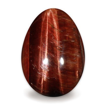 Red Tiger Eye Crystal Egg ~48mm
