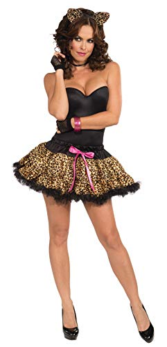 Forum Novelties Women's Costume Tutu and Headband Set, Leopard, One -