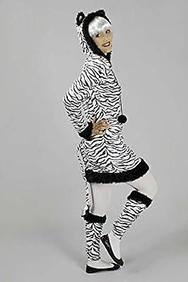 carnaval klamotten Disfraz Zebra vestido para mujer Disfraz ...