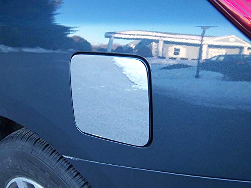 Door Accent Fuel - QAA FITS Pathfinder 2013-2019 Nissan (1 Pc: Stainless Steel Fuel/Gas Door Cover Accent Trim, 4-Door) GC13527
