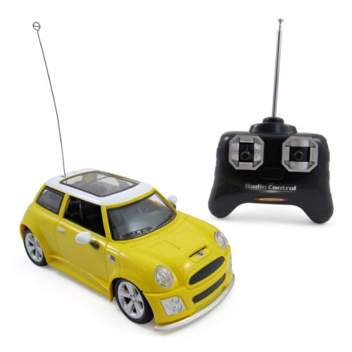 Mini Cooper Full Function R/C Radio Remote Control Car 1:24 Scale (Colors (R/c Radio Control)