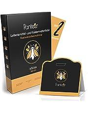 Panteer ® mottenval tegen 2 mottensoorten met hoge effectiviteit - mottenbescherming tegen voedselmotten en motten in de kledingkast - feromonval - 6 stuks