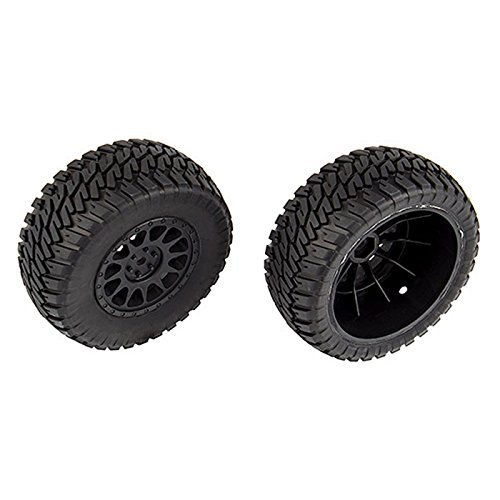 Team Associated Multi-terrain Tires and Method Wheels mounted by Team Associated