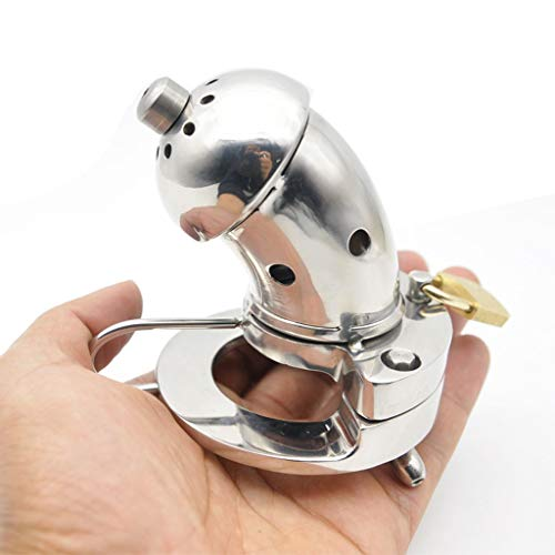 CXQ Fun Stainless Steel Metal Open Chicken Cage Health Toy (Size : 40mm) by CXQ (Image #2)