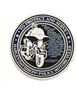 Harley-Davidson Police To Protect And Serve Challenge Coin 1.75'' 8002916
