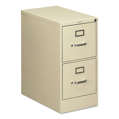 HON Two-Drawer Filing Cabinet- 510 Series Full Suspension Letter File Cabinet, 29 by 15-inch, Putty (Hon 2 Drawer Filing Cabinet)
