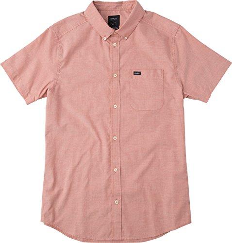 rvca-mens-thatll-do-oxford-short-sleeve-woven-shirt-baked-apple-small