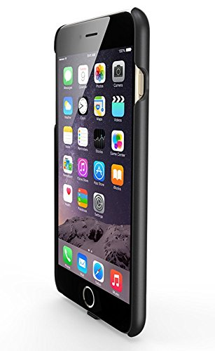 """Intsun® Qi Wireless Charging Receiver Back Cover Case with Detachable Lighting Connector compatible with faster charging and supports latest WPC standard (1.1) for iPhone 6 (4.7"""") Qi Enabled Receiver Phone Back Protective Case for iPhone 6 (iPhone 6 case)"""
