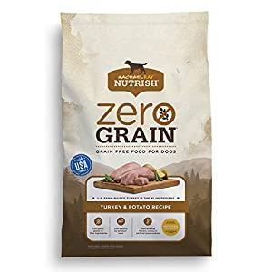 Rachael Ray Nutrish Zero Grain, Turkey & Potato Recipe Dry Dog Food, 28 Pounds, Grain Free 61