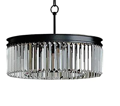 Zgear 7 Lights Luxury Modern/Contemporary Crystal Chandelier Ceiling Light Pendant Light for Dining Room, Living Room