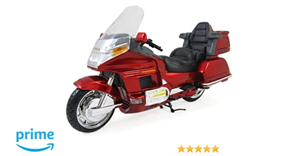 Honda Goldwing 1500 Diecast Motorcycle Replica 1:12 Scale RED